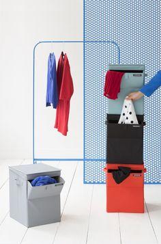 Brabantia stackable laundry bins!