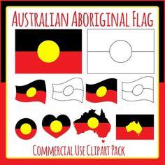 australia day flag clip art
