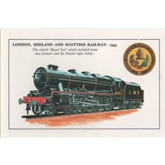 Colourmaster London Midland & Scotish Railway 1943 the rebuilt Royal Scot Listing in the Rail,Transportation,Postcards,Collectables Category on eBid United Kingdom | 142652774