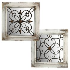 Wood And Metal Wall Decor this decorative wood & metal wall plaque gives you gorgeous