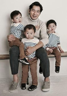 """""""Superman Returns"""" Triplets to Make Appearance at 2014 KBS Entertainment Awards Superman Baby, Cute Kids, Cute Babies, Song Il Gook, Korean Tv Shows, Korean Actors, Triplet Babies, Man Se, Song Triplets"""