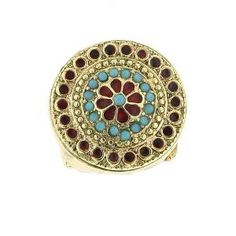 Vintage Boho Mosaic Ring - Rings - More Jewelry