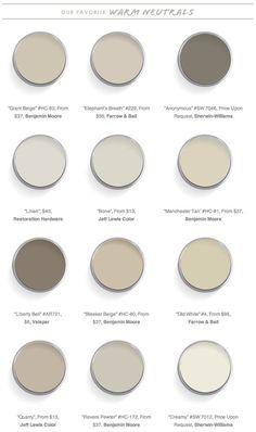 Domaine Home - 12 Best Warm Neutral Paint Colors