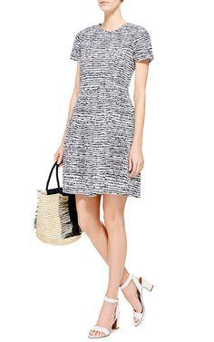Pintuck Printed Cotton Dress by Chinti and Parker - Moda Operandi