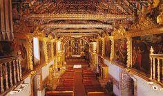 La belleza de sus murales son el atractivo principal de la Iglesia de San Pedro de Andahuaylillas. Foto: Walter Wust