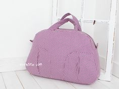 %20Edith%20Boston%20Bag%20PDF%20Pattern%20-%20New%20Release%20Sale!%20-%20%%20Off! Boston Bag, Purple Bags, Sale 50, Pouches, Totes, Sewing Patterns, Tutorials, Pdf, Passion