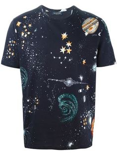 "VALENTINO* ""Space"" Print T Shirt"
