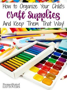 1000 images about decluttering tips on pinterest for How to organize craft supplies