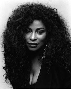 Chaka  khan knows she was fine ass fine #blackwomen