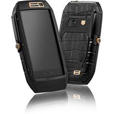 TAG Heuer LINK (Prestige Light Gold) - Sophisticated Mobile Phone..