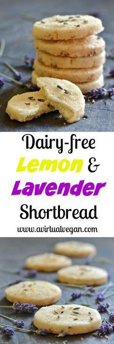 This beautifully rich Lemon Lavender Shortbread is full of zesty lemon flavour…