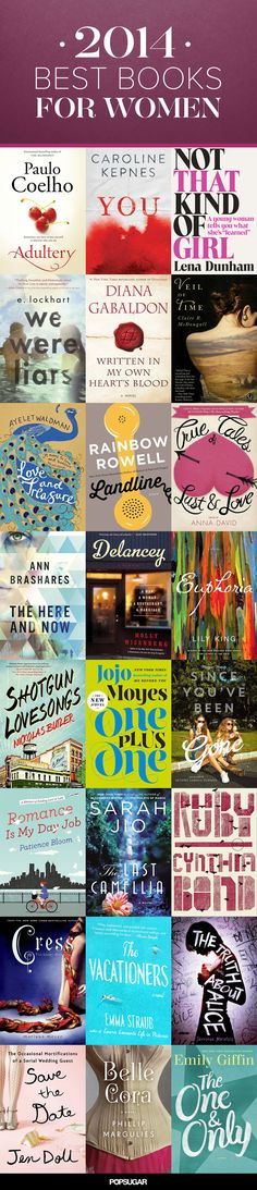 The year's best #books for women: All the books we couldn't get enough of in 2014!
