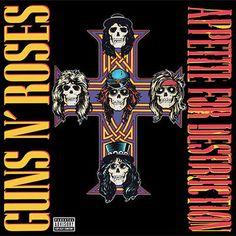 Guns n' Roses Appetite For Destruction – Knick Knack Records