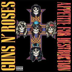 Guns n' Roses Appetite For Destruction – Knick Knack Records