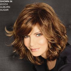Shop our online store for premium wigs from actress Jaclyn Smith and celebrity hairstylist José Eber. These wigs for senior women are available in average and large head sizes. Find your favorite Jaclyn Smith wig style by length or color. Medium Length Hair With Layers, Medium Hair Cuts, Short Hair Cuts, Medium Hair Styles, Curly Hair Styles, Hair Styles For 50, Medium Curly, Jaclyn Smith Wigs, Wig Styles