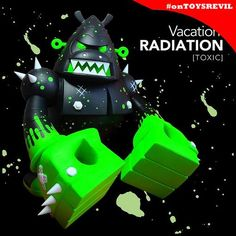 About That Vacation Radiation TOXIC Chase Bad Ass from Pobber Toy http://toysrevil.blogspot.sg/2013/08/about-that-vacation-radiation-toxic.html