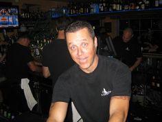 The resident bartender.  Chris Robertson!  Great guy!