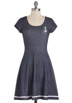 1940s Anchors Dress $69.99  #1940sfashion #retro