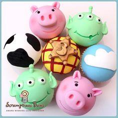Toy Story cupcakes #birthdaycake #cupcakes #scrumptiousbun…   Flickr