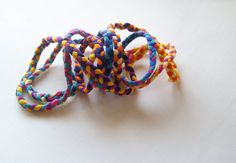 Hot Mess braided wrap up bracelet in by EarlyMorningProjects Handmade Jewelry, Unique Jewelry, Handmade Gifts, Hot Mess, Braids, Trending Outfits, Bracelets, Etsy, Vintage
