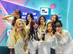 LOVELYZ 1st WIN at The Show