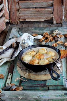 Mi Gran Diversión: Albondigas de merluza con salsa de almendras