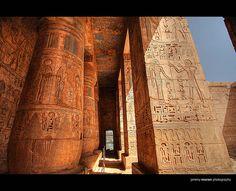 Medinet Habu Temple - Luxor, EGYPT
