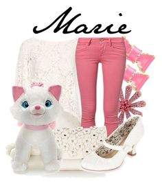"""Marie"" by niennamarie ❤ liked on Polyvore featuring Kate Spade, Betsey Johnson, Pull&Bear, Fornarina, Accessorize, Disney and Monsoon"