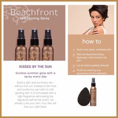 Beachfront Spray...orders your at www.youniqueproducts.com/jennifercrosby
