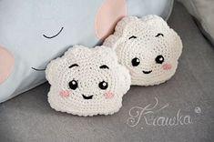 Free pattern cute cloud - mini pillow. #crochet #freecrochet #freecrochetpattern