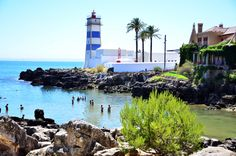 Cascais gorgeous beaches, only 30 kilometres away from Lisboa, less than an hour ride. Don't miss out on Boca D'Inferno