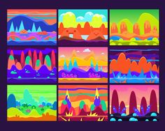 Game Background Vecto by TopVectors on @creativemarket