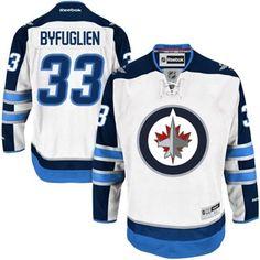 Reebok Dustin Byfuglien Winnipeg Jets Premier Player Jersey - White