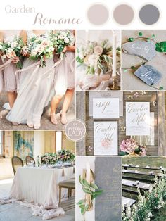 The Sweetest Spring Wedding Palette Ever in Dusty Purple, Mauve, and Slate Gray | http://heyweddinglady.com/sweetest-spring-wedding-palette-ever/