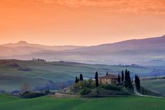 Tuscany, Italy - beautiful throughout!  This is a gorgeous photo. Not sure who to photo credit, but should!
