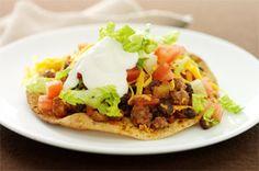 Cheesy Beef Tostadas Recipe - Healthy Living Kraft Recipes