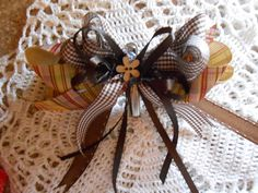 Little Girls Hair Bows by JanesBarefootCrafts on Etsy, $5.00
