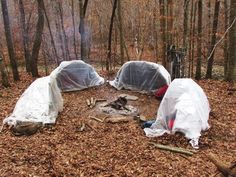 The ultimate survival shelter provides warmth and protection from even the fiercest weather. With a few supplies, you can build this shelter in an hour.
