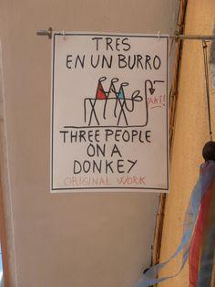 Walking to Parc Güell -Barcelona A Donkey, Barcelona, Walking, Spaces, The Originals, Barcelona Spain, Walks, Hiking