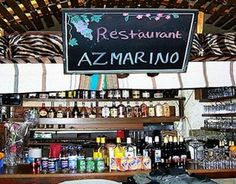 Azmarino is an East African restaurant where you can eat traditional dishes with your hands (and the help of a pancake). Prices average EURO 9.50.