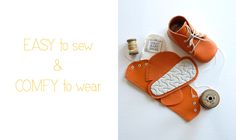 First Baby Shoes | handmade gift for baby feet