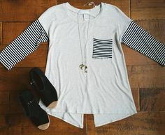 """29 Likes, 1 Comments - Trend Traveler Boutique (@trend_traveler_boutique) on Instagram: """"We love STRIPES!  Shop this top and other great styles at www.trendtravelerboutique.com today!…"""""""