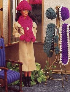 Wintertime-Hats-Accessories-Barbie-Doll-Crochet-Pattern-30-Days-To-Shop-Pay