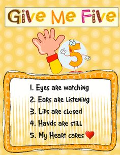 give me 5 - include in new Primary teacher welcome packet