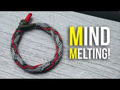 YouTube Paracord Tutorial, Paracord Knots, Macrame Tutorial, Paracord Bracelets, Bracelet Tutorial, Bracelets For Men, Survival Bracelets, Paracord Projects, Macrame Projects