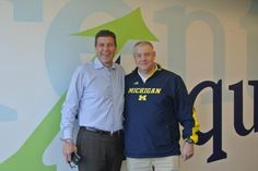 """This morning's meeting featured an inspirational and motivational talk from John Baxter a football coach at the University of Michigan and Author of Academic Gameplan. The best takeaway by far: """"Opportunity comes to those who are ready, willing and able."""""""