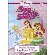 Disney Princess Sing Along Songs, Vol. 1 - Once Upon A Dream --- http://www.pinterest.com.welik.es/fi