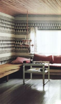 the transcontinental affair: July 2011. To die for wallpaper!