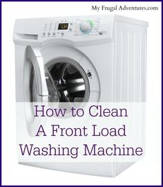 One chore that can sometimes be forgetten is to clean your washing machine. Here are some simple tips on how to deep clean a front load washing machine. Get it fresh and clean before the holidays! via My Frugal Adventures House Cleaning Tips, Deep Cleaning, Spring Cleaning, Cleaning Hacks, Front Load Washer, Cleaning Painted Walls, Thing 1, Clean Dishwasher, Clean Washer