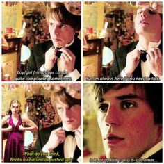 #Love,rosie awww poor Alex, he has no idea what to say
